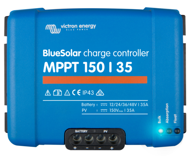 Victron SMART BlueSolar Charge Controller - 150/35A
