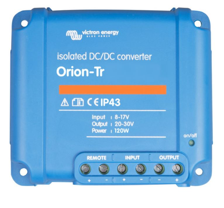 Orion-Tr 12/12-18 (220W) Isolated DC-DC converter