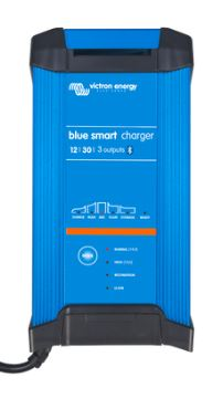 Victron Blue Power 12 volt 30 amp battery charger - IP22 - Three Output - Smart Charger