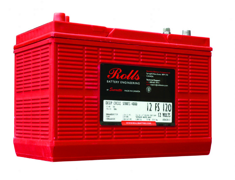 Battery - Rolls - 12V 120AH (20hr)