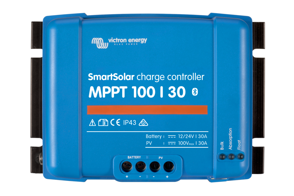 Victron SMART BlueSolar Charge Controller - 100/30A