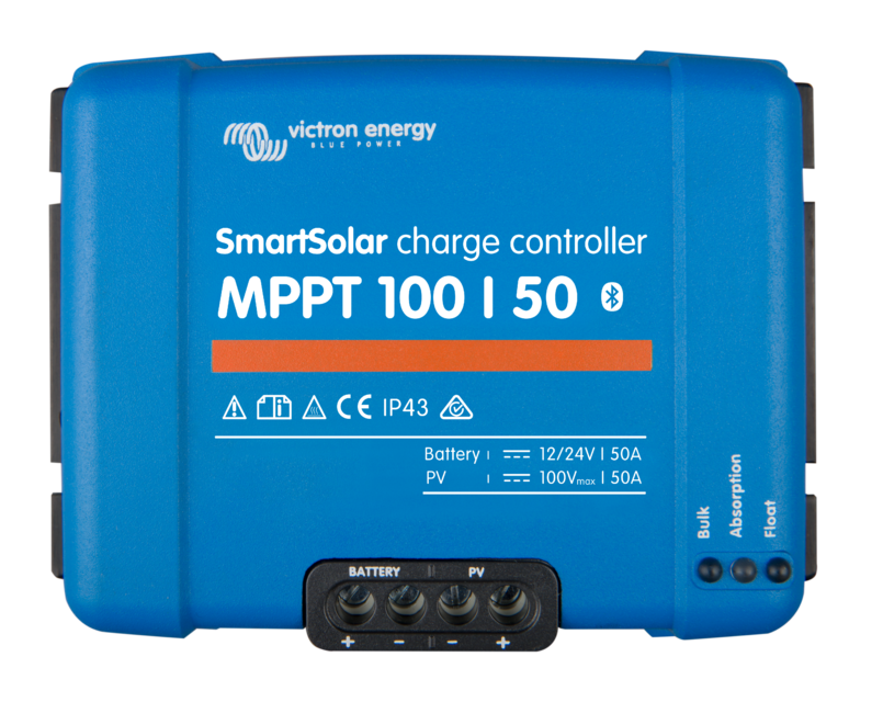 Victron SMART BlueSolar Charge Controller - 100/50A