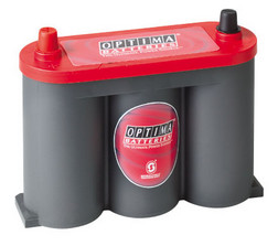 Optima 'RedTop' Spiracell battery - 6V - 50Ah (815cca)