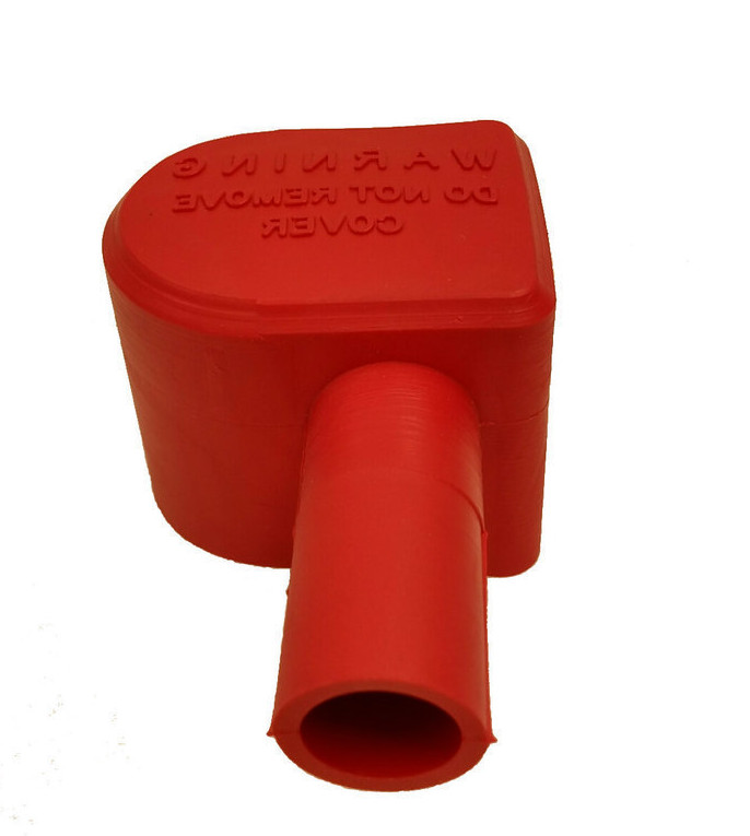 Battery Terminal Cover - Red - Left