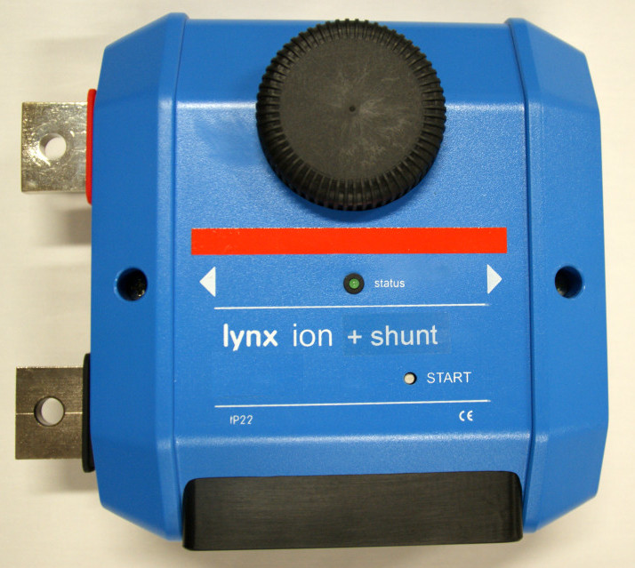 Lynx Ion and Shunt battery management module - c/w 350A relay