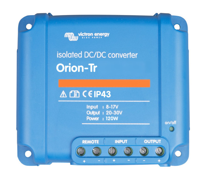 Orion-Tr 12/12-9 (110W) Isolated DC-DC converter