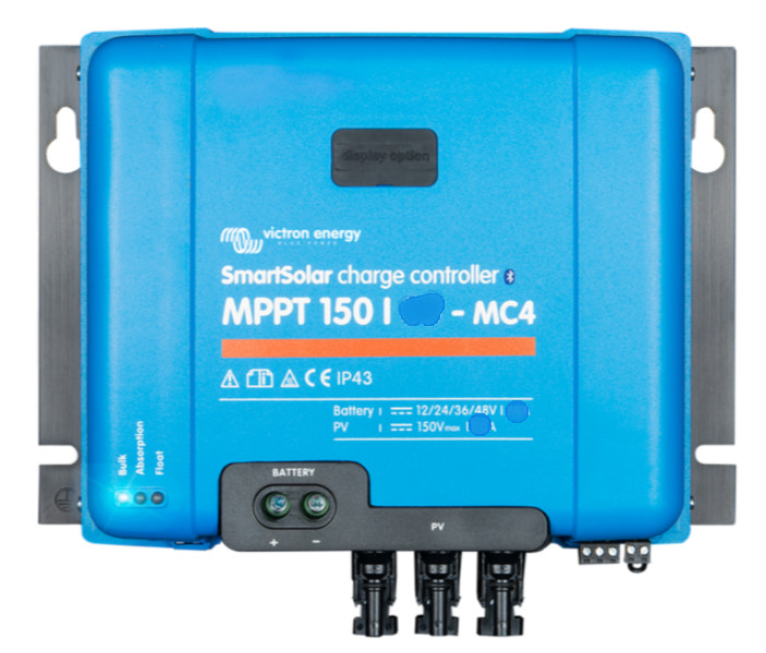 Victron SMART BlueSolar Charge Controller – 150/45A - With MC4 Connection