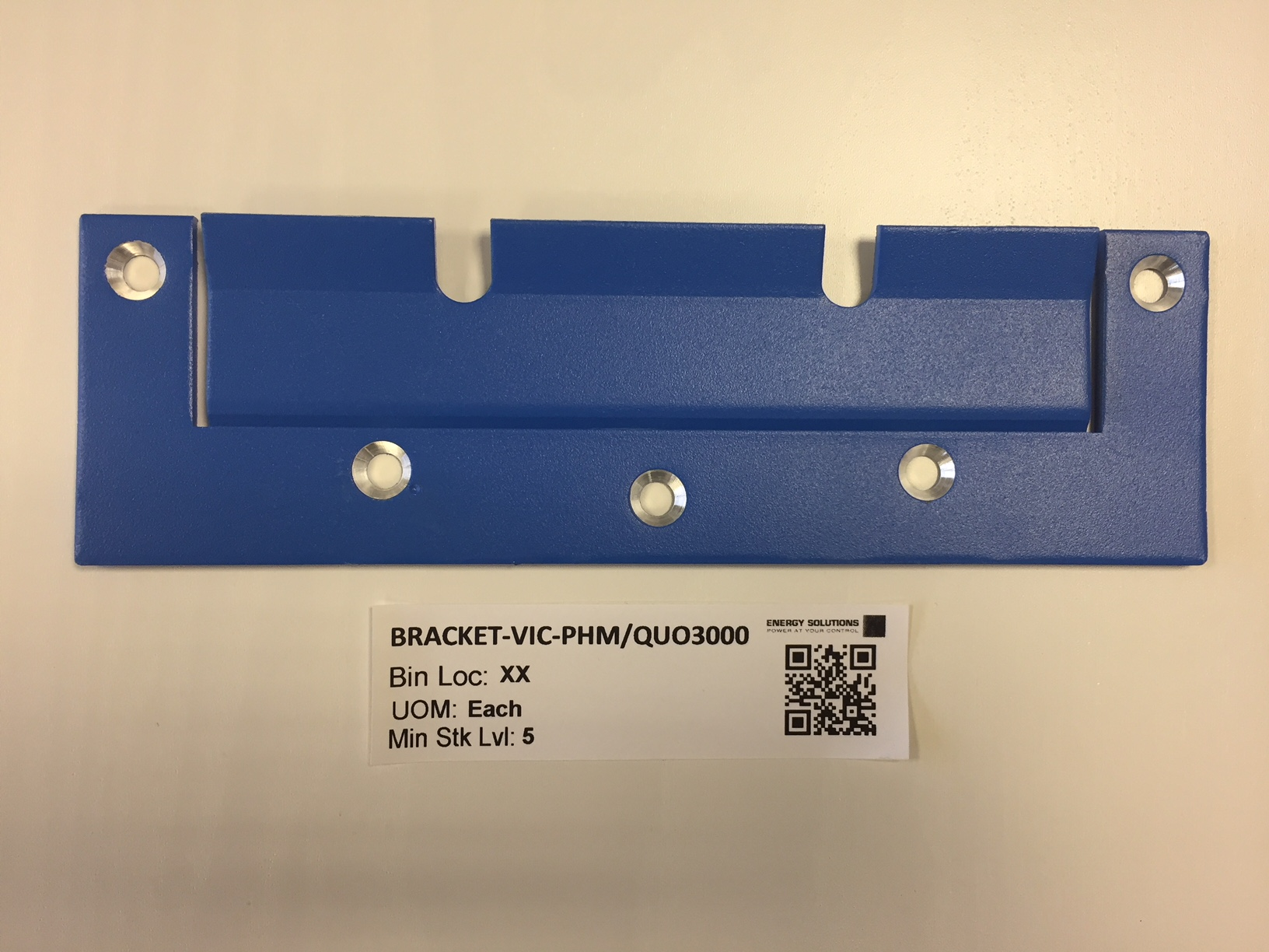 Mounting Bracket for Victron 3000VA Enclosures