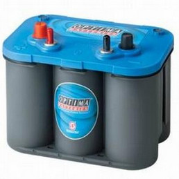 Optima 'BlueTop' Spiracell battery - 12V - 50Ah (815cca)