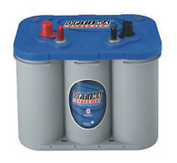 Optima 'BlueTop' Spiracell battery - 12V - 55Ah (690cca)