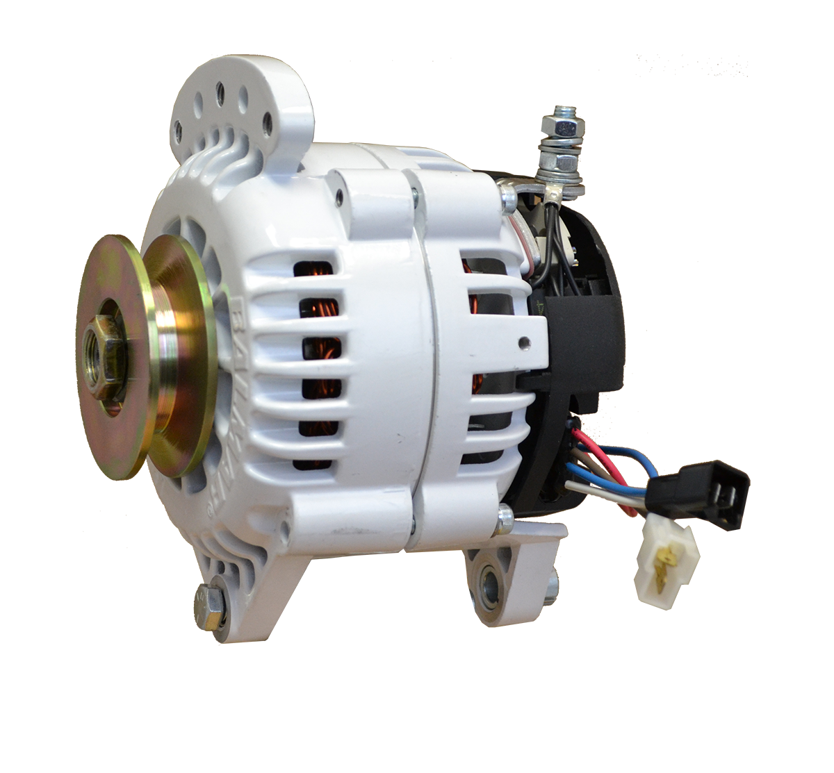 12V 100A 60 Series Single Vee Saddle Mount Alternator