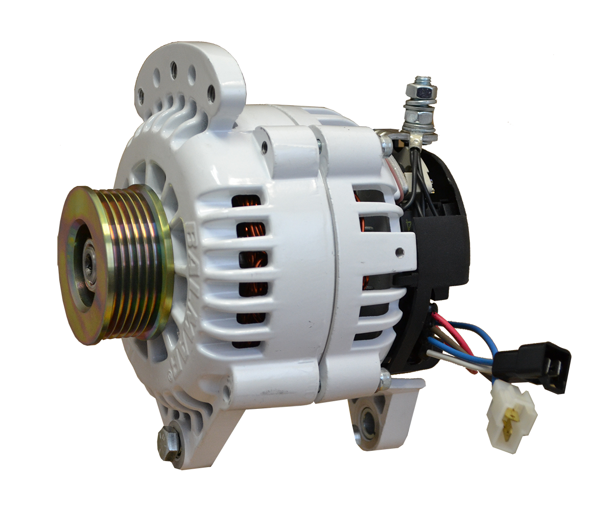 12V 120A 60 Series K6 Serpentine Saddle Mount Alternator