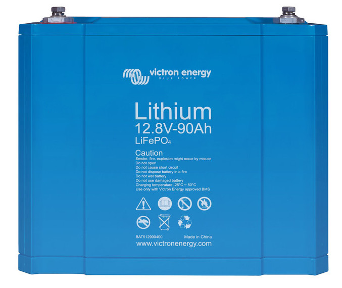Victron Lithium Ion Battery - 90ah Smart