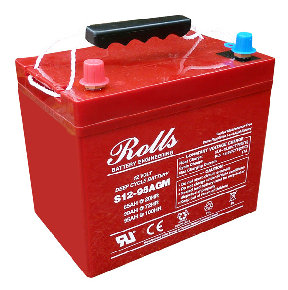Battery - Rolls AGM - 12V 85AH (20hr)
