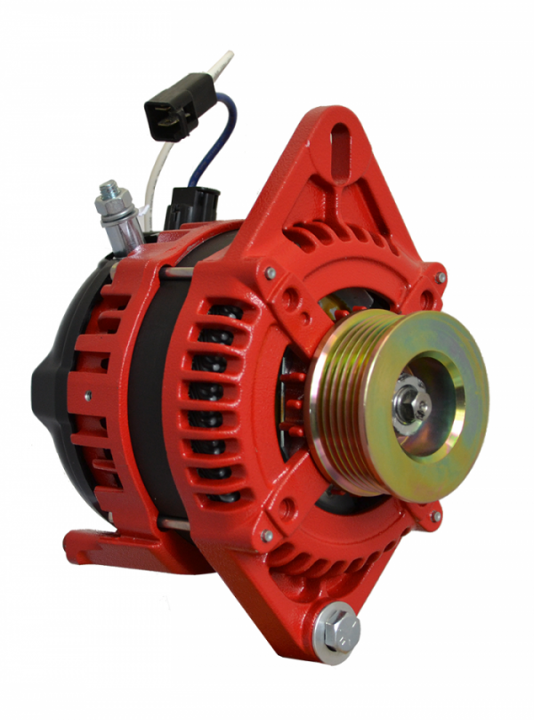 12V 165A AT Series Single Foot Spindle Mount Alternator