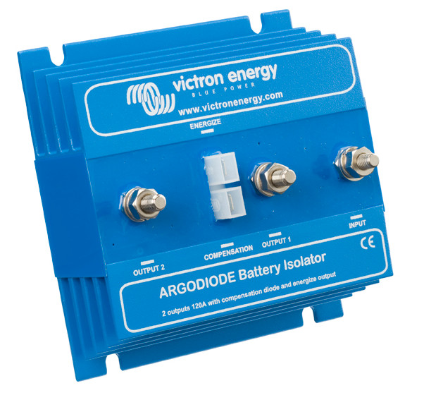 Battery Isolating Diode Splitter 80A - 2 Outputs