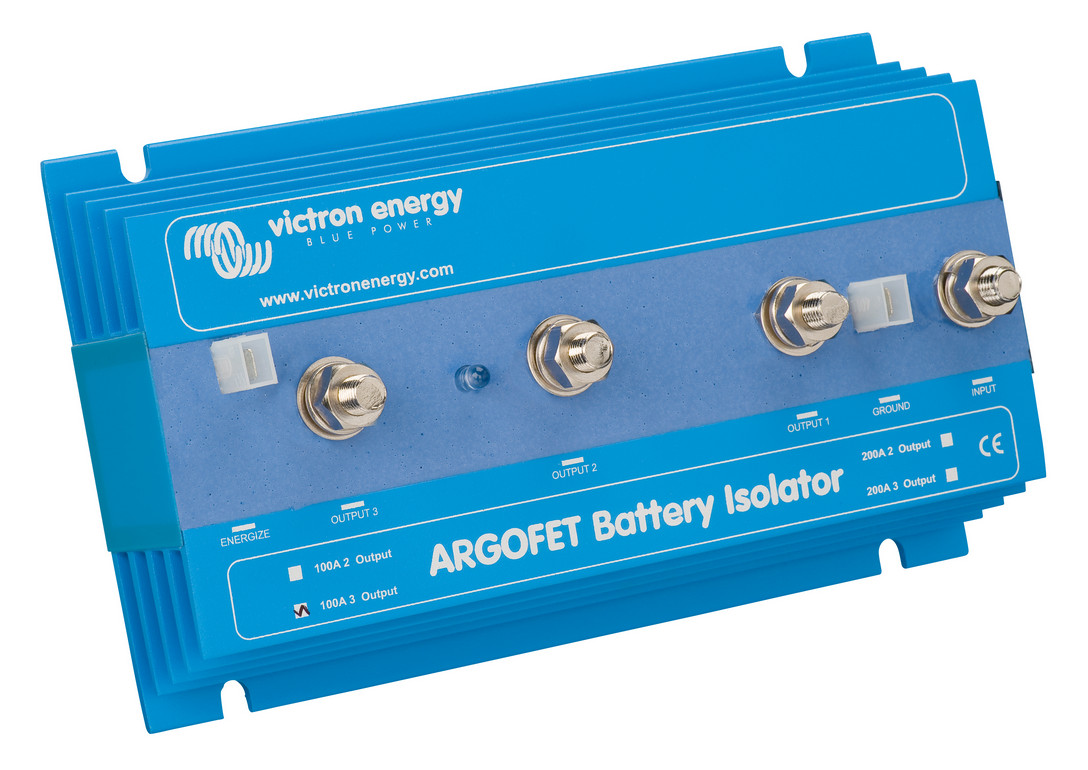Battery Isolating Splitter - FET Based - 100A - 2 Outputs