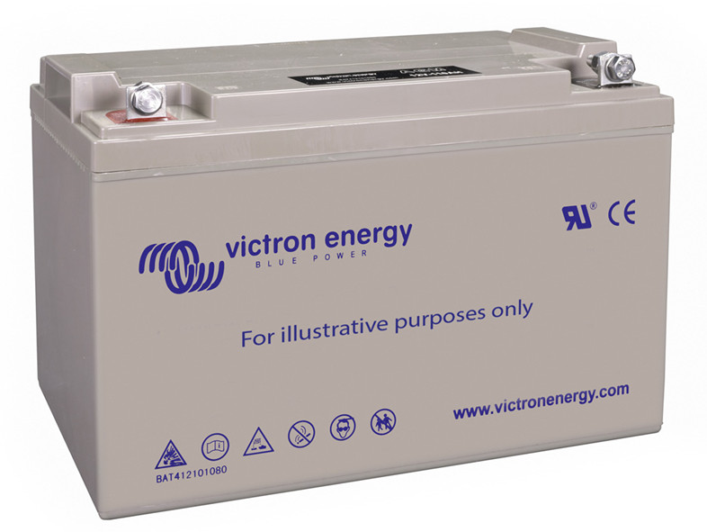 Victron 12V GEL deep cycle battery - 55 ah @ C10, 60 ah @C20