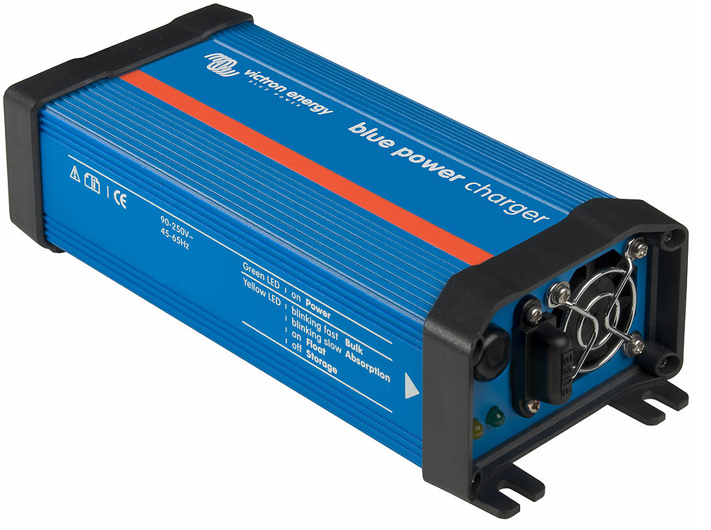 Victron Blue Power 12 Volt 7 Amp Battery Charger - 120VAC