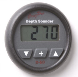 CruzPro Digital 55 mm Depth Sounder. ROUND BEZEL - D60