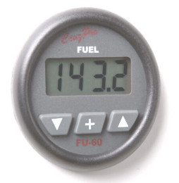CruzPro Digital 55 mm Fuel Gauge and Consumption Calculator. ROUND BEZEL - FU60