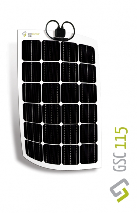 Gioco Flexible Solar Panel - Monocrystalline - 115w