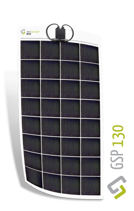 Gioco Flexible Solar Panel - Polycrystalline - 130w