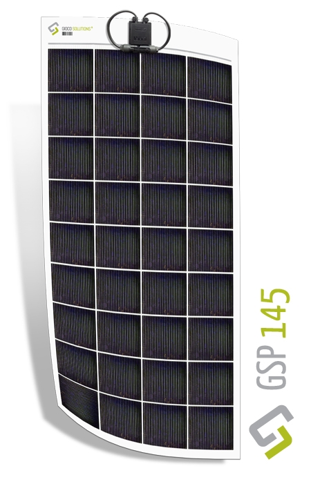 Gioco Flexible Solar Panel - Polycrystalline - 145w