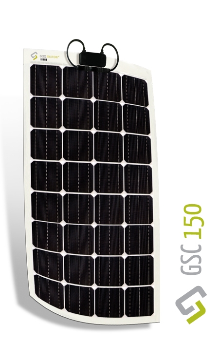 Gioco Flexible Solar Panel - Monocrystalline - 150w