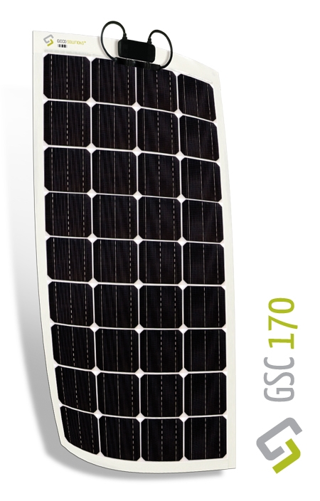 Gioco Flexible Solar Panel - Monocrystalline - 170w