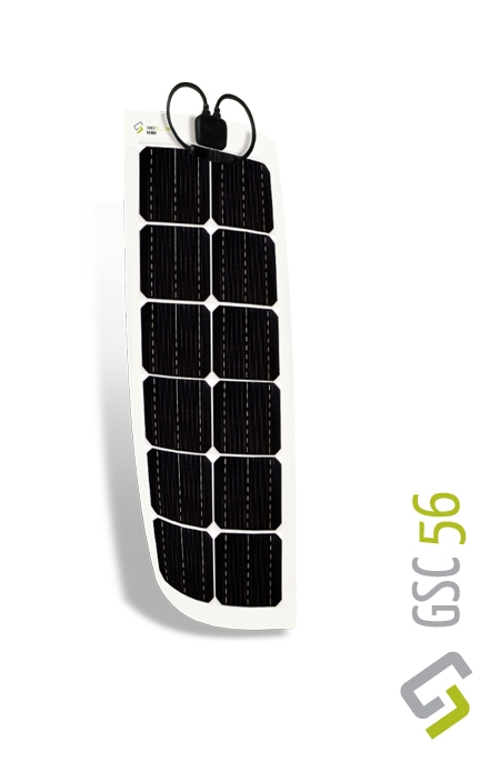 Gioco Flexible Solar Panel - Monocrystalline - 56w