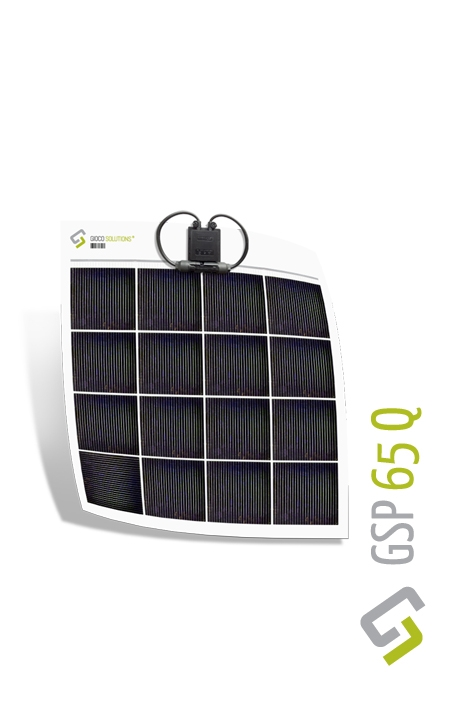Gioco Flexible Solar Panel - Polycrystalline - 65w (65Q)