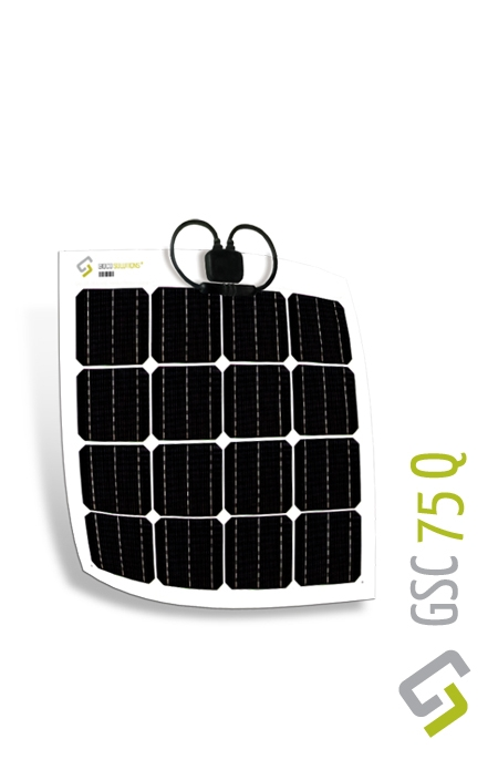 Gioco Flexible Solar Panel - Monocrystalline - 75w