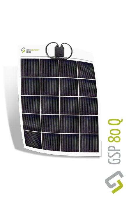 Gioco Flexible Solar Panel - Polycrystalline - 80w