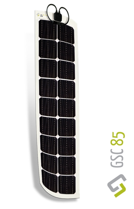 Gioco Flexible Solar Panel - Monocrystalline - 85w