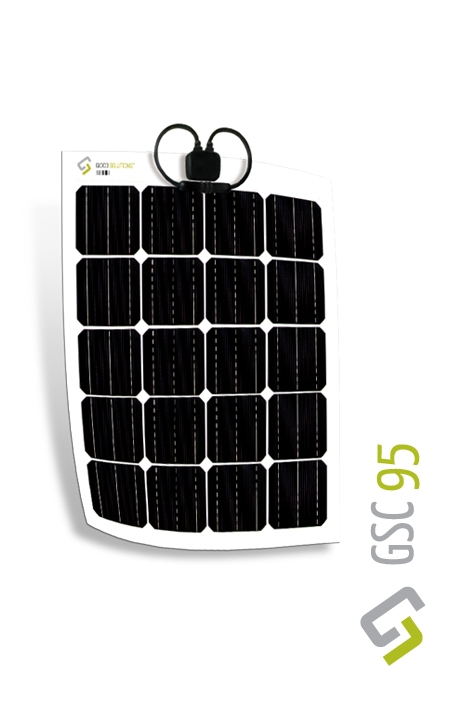 Gioco Flexible Solar Panel - Monocrystalline - 95w