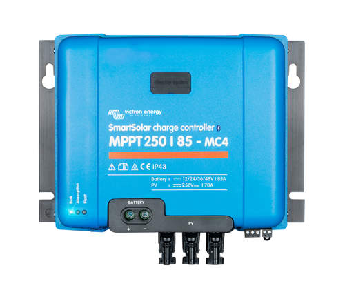 Victron SMART BlueSolar Charge Controller – 250/85A - With MC4 Connection