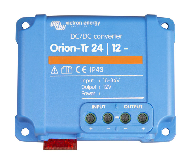 Victron Orion DC-DC Converter. 18-35V In 13.2V Out. 15A