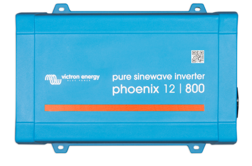 Victron Phoenix 12V, 800VA 230V Sine Wave Inverter. VE.Direct  IEC Euro outlet