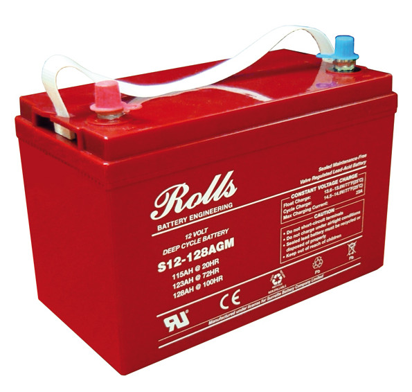 Battery - Rolls AGM- 12V 115AH (20hr)