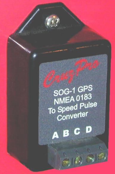 Cruzpro SOG-1 GPS NMEA 0183 to Paddlewheel Speed Pulse Converter - SOG1