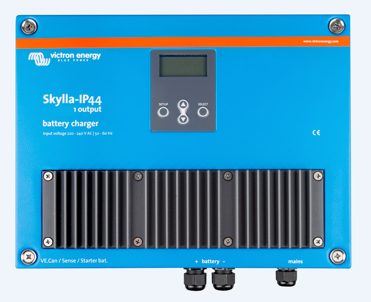 Victron Skylla 24 volt 30 Amp Battery Charger - IP44  - 1 output