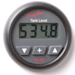 CruzPro Digital 55 mm Tank Gauge. ROUND BEZEL - TL55