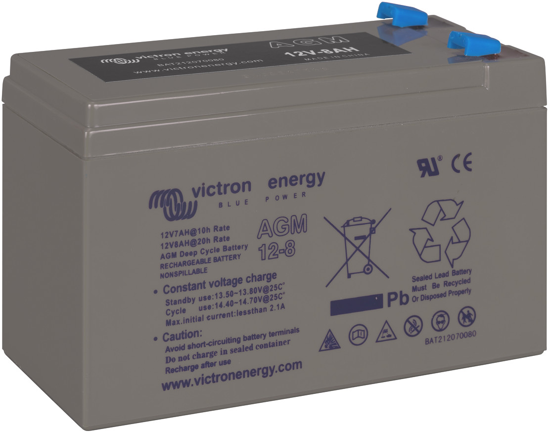Victron 12V AGM deep cycle battery - 8ah @ C20