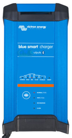 Victron Blue Power 12 Volt 15 Amp Battery Charger - IP22 - Single Output - Smart Charger