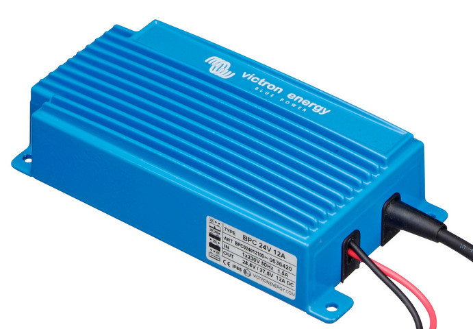 Victron Blue Power 24 Volt 12 Amp Battery Charger - Single Output