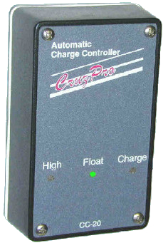 Automatic Charge Controller for 12V Wet or Gel batteries. 8A Output - CC20