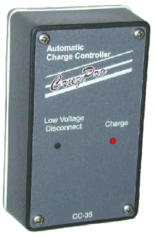 High Performance Automatic Charge Controller. With LVD Support. For 12V System. 8A Output. 12VDC Wet Batteries ONLY - CC35