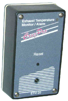 CruzPro Engine and Exhaust Temperature Monitor - ETM20
