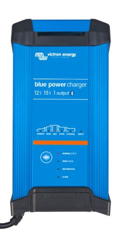 Victron Blue Power 12 volt 30 amp battery charger - IP22 - Single Output - Smart Charger